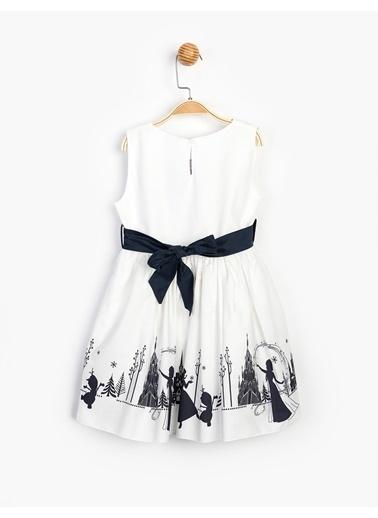 Frozen   Elbise 15550 Beyaz